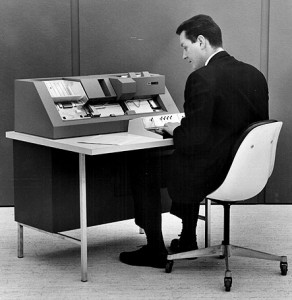 punch-card operator